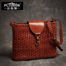 women trend woven leather handbag 2018 latest shoulder sling flap cross bags handmade natural leather messenger lady bags