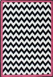 5x8 milliken vibe border pink modern chevron area rug approx 5 4 x7