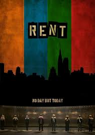 Rent Poster Rent The Musical Broadway Musicals Rent Musical Broadway
