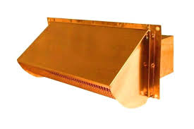 exterior wall vent covers range exhaust vents and roof from luxury metals with hood cover prepare exterior wall vent covers