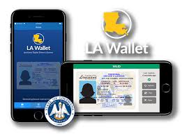 Digital Envoc La Louisiana Wallet License
