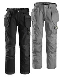 Snickers Workwear 3214 Knee Pads Multipockets Holster Work Trousers