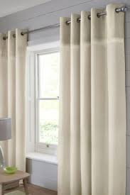 Small Picture Buy Plush Embroidered Band Eyelet Curtains from the Next UK online