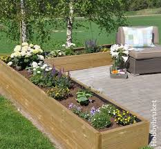flower beds ideas with raised decorations 12