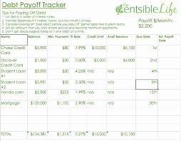 Debt Tracker Spreadsheet Debt Tracker Spreadsheet Of Debt Payoff Tracker Template