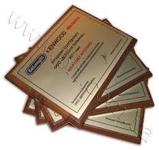 Красивые дипломы красивые сертификаты памятные адреса на заказ  Дипломы компании delonghi лучшим сотрудникам Печать на металле цвета серебро деревянная основа
