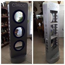 Alcohol Cabinet 6 Foot Tall Ciroc Alcohol Cabinet Toy Cabinet With Rgb Led Light
