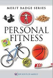 Personal Fitness Merit Badge Chart Personal Fitness Merit Badge