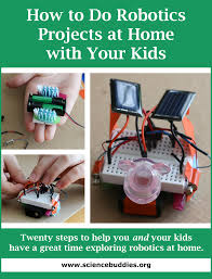 to Do Robotics at Home with Your Kids