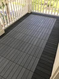 quick deck outdoor composite deck tile