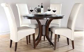 glass top round dining table with wood base round glass dining table with wooden base dark