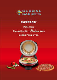 Half 'n' half, pizza, pasta , desserts, beverages, meal deals and more. G3 Ferrari Delizia Pizza Maker Global Gadgets Post Free Ads Buy And Sell Classified Ads