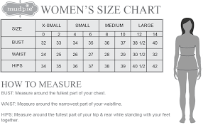 Hip Measurement Chart Womens Size Chart