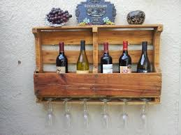 pallet wine rack. Recycled Pallet Board Wine Rack