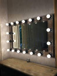 M Hollywood Vanity Mirrormakeup Mirror With LightsMakeup Artist MirrorLighted  MirrorLarge Lighted