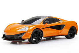 New Bright Remote Control 1:8 Scale Radio Control McLaren 570s Car ...