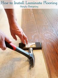 how to install laminate flooring diy flooring homeimprovement laminateflooring at