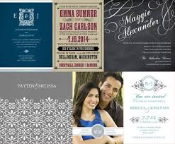 collage wedding invitations diy brides using online photo services for custom wedding invites
