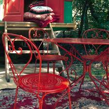 modern and vintage style garden chairs