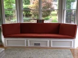 Window Seat Custom Bay Window Seat Cushion Trapezoid Cushion With