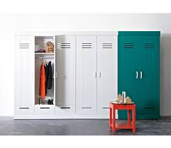 Locker Style Bedroom Furniture Connect 2 Door Locker Wardrobe With 2 Drawers Additional Interior