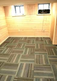 how to lay carpet tiles can you loose squares concrete floor