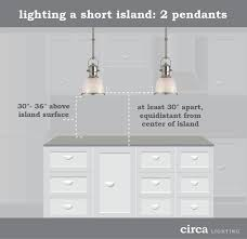 island pendant lighting. circa lighting blog for kitchen islands that are shorter in length or lovers island pendant