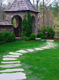 Small Picture Garden Path Designs Awesome Idea Paths With Stepping Stones Best