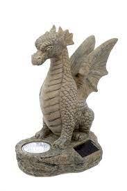 smart garden solar powered dragon