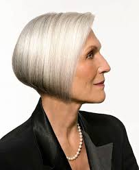 Short bob haircuts for women after 50 years is more preferable than long hair, and a square without a bang will be the best option for them. Youthful Hairstyles For Grey Hair Iles Formula