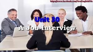 unit 30 a job interview listening practice through dictation unit 30 a job interview listening practice through dictation level 3