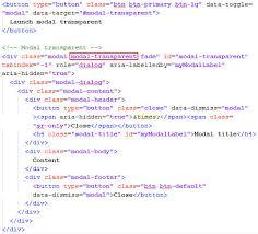 pada baris program di atas bisa kalian perhatikan kalian bisa menambahkan nama cl sesudah cl modal yaitu modal transpa fungsi dari cl
