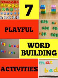 Activities Word 7 Wonderful Word Building Activities Childhood101
