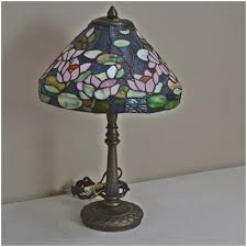 stained glass lamp base unique antique floor lamps table lamps and light fixtures auction in west harrison indiana personal
