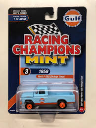 1959 FORD F-150 PICKUP TRUCK GULF OIL 1/64 SCALE BY ...