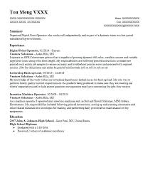 Free Resume Form To Print Print Resume Free Online Best Photos Of