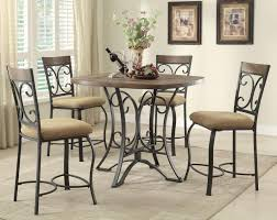 kiele casual dining set in oak antique black finish