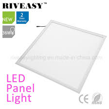 Hot Item 36w Led Panel Light 600x600 With Nano Lgp 80lm W Ra 80 Panel Light