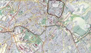 large jerusalem maps for free download and print  highresolution