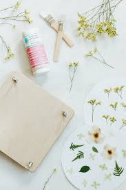 Flower Pressed Paper Pressed Flowers Decanter Glasses Diy Jojotastic