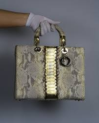 Lady Dior Royal Python