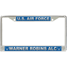 Walmart Warner Robins U S Air Force Warner Robins Alc License Plate Frame