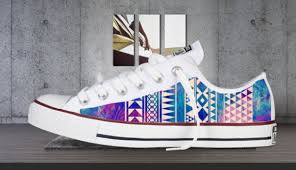 converse shoes design. aztec design converse low tops galaxy print new vintage handmade chills style cool shoes galxy