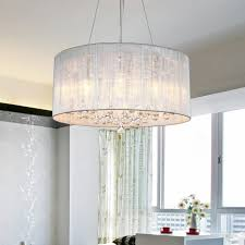 lightinthebox drum pendant modern 4 lights modern home ceiling with regard to drum chandelier