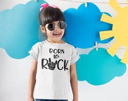 Rock N Roll Jeans Size Chart Rock Roll Kids T Shirts Born To Rock Toddler Shirts Rock N Roll Tshirts Kids Rock Shirts Rock On Tshirts Kids Unisex Shirts