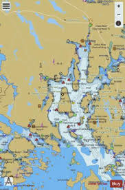 Blue Hill Bay Me Marine Chart Us13316_p2011 Nautical