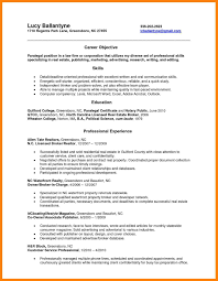 Notary Public On Resume Notary public resume template best of 24 paralegal resume objective 1
