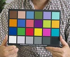 Color Calibration Chart Colorchecker Wikipedia