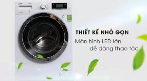 Nhập ELMAY21 giảm 10% tối đa 200k đơn từ 99k]TRẢ GÓP 0% - Máy giặt Beko  WY104764MW 10kg Inverter