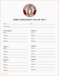 Tournament Sign Up Sheets Sign Up Sheets Templates Tournament Sign Up Sheets Akbaeenw Resume